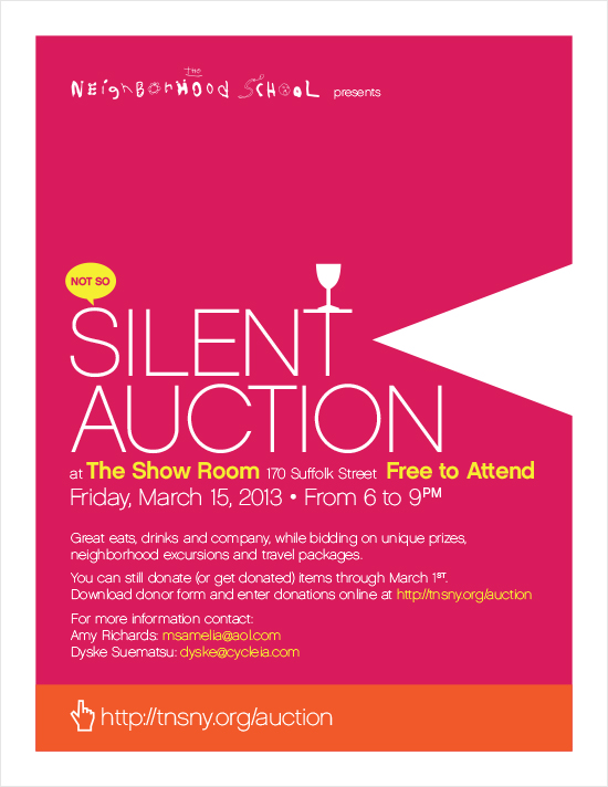 Silent Auction 2013
