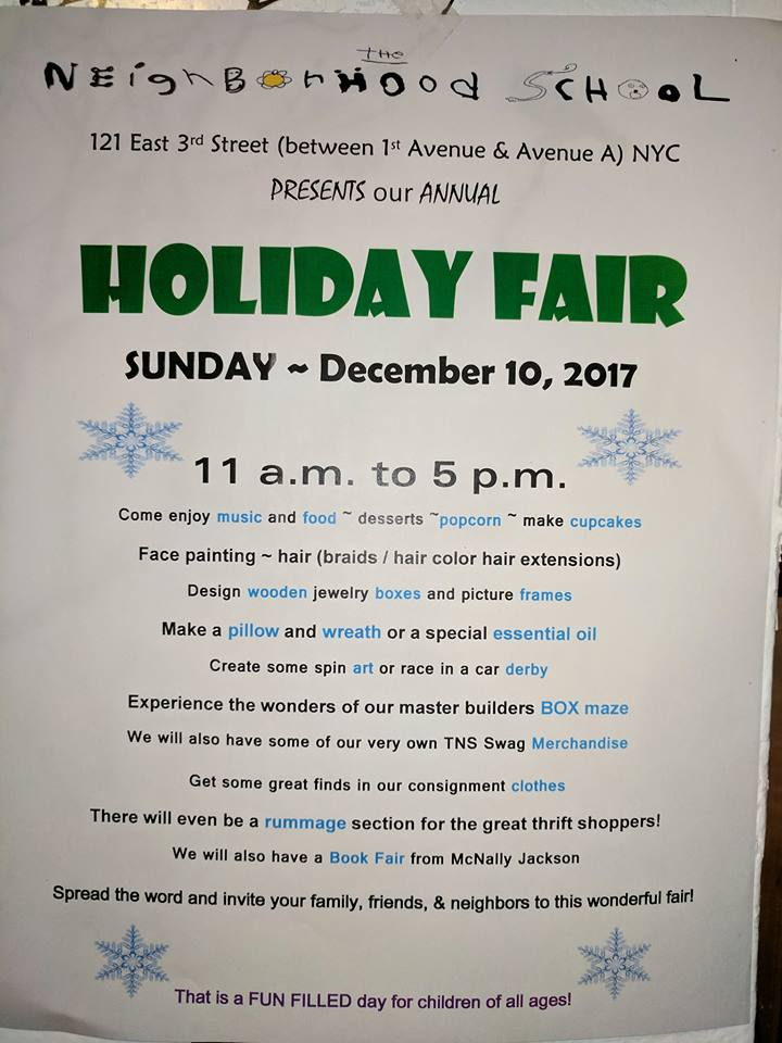 2017 Holiday Fair