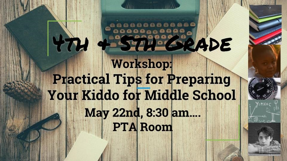 Middle School Workshop