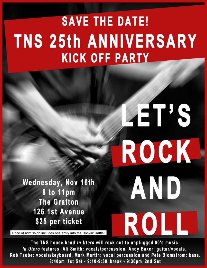 25th Anniversary Kick Off Party This Wednesday!